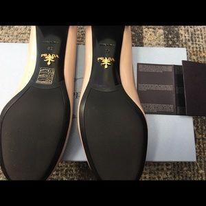 Prada Shoes - NWT PRADA CIPRIA BLOCK HEELS